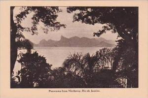 Brazil Rio De Janeiro Panorama From Nictheroy Advertising Lamport &  Holt ...
