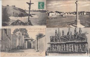RELIGION CROSS CROIX FRANCE 400 CPA (pre-1940)
