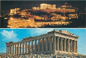 Greece Post card Athens Acropolis night&day views