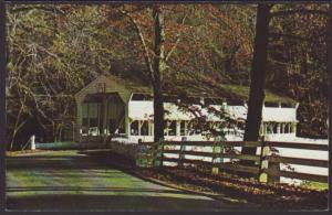 Covered Bridge,Valley Forge,PA Postcard
