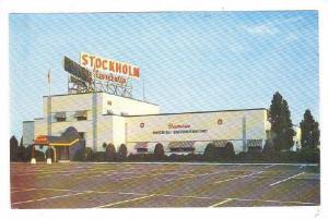 Stockholm Restaurant, Show Place, Somerville, New Jersey, 1940-1960s