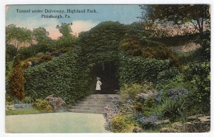 Pittsburgh, Pa, Tunnel under Driveway, Highland Park