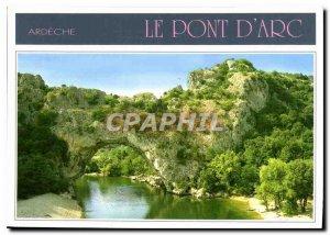 Postcard Modern Ardeche Pont d'Arc