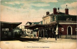 CPA Gare de Suresnes Longchamp (274821)