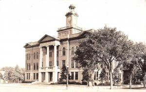 Yankton South Dakota~County Court House~1943 Real Photo Postcard~RPPC