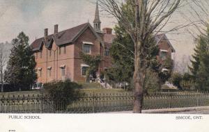 SIMCOE , Ontario, Canada, 1900-10s ; Public School