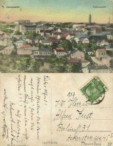 ukraine russia, CHERNIVTSI CZERNOWITZ, Panorama (1910s) Postcard