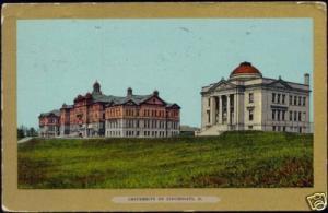 Cincinnati, Ohio, University (1909)