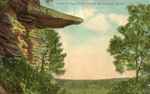 WI - Visor Ledge, Dells of the Wisconsin River