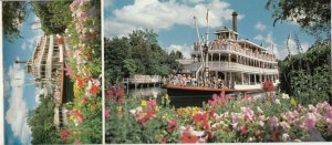 WALT DISNEY  , Florida , 50-60s ; Frontierland Booklet 8 Postcards , 1970s