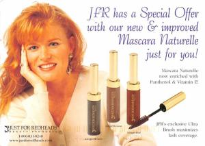 Just for Redheads Beauty Products - Advertising