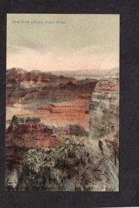 AZ Grand Canyon National Park, Hopi Rowe Point Arizona Postcard, Colorado River