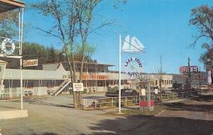 Cooperstown New York~Nautical Look Lake Front Motel~Telephone Booth~1960s Cars