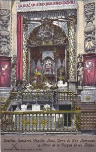 Spain Sevilla Catedral Capilia Real