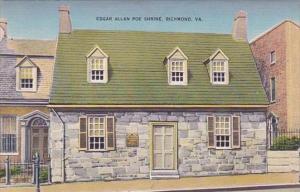 Virginia Richmond Edgar Allan Poe Shrine