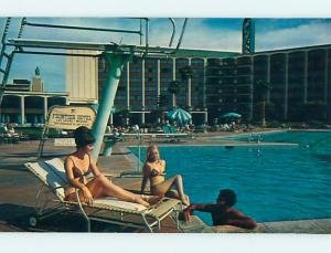 Pre1980 RISQUE - BIKINI GIRLS AT FRONTIER CASINO HOTEL Las Vegas NV Q5021