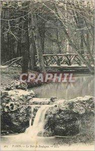 Old Postcard Paris The Bois de Boulogne