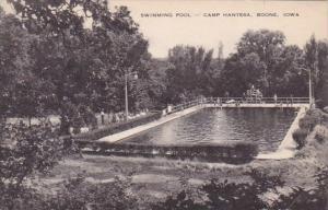 Swimming Pool Camp Hantesa Boone Iowa Artvue