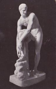 Illinois Chicago Art Institute Athlete Tying His Sandal