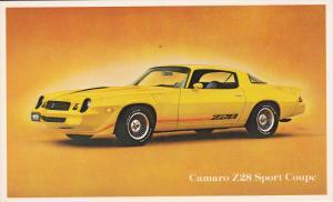Chevrolet 1970s Z28 Camaro Sport Coupe Automobile