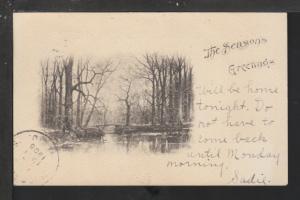The Season's Greetings Postcard
