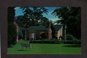AR  Arkansas Territorial Restoration Little Rock Ark Postcard Carte Postale