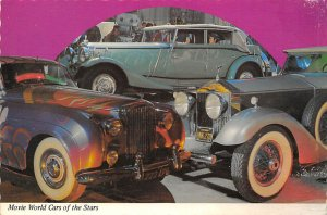 Race Car Post Card World Cars of Stars, Maybach Zeppelin, John Lennon Buena P...