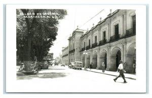 Postcard Palacio de Gobierno, Oaxaca, Mexico RPPC Y62