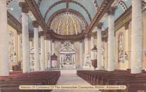 Alabama Mobile Interior Of Cathedral Of The Immaculate Conception