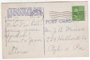 P519 JLs 1945 linen horse racing hialeah park florida