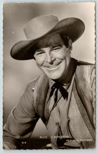 Cowboy Western Movie Actor Rod Cameron~Republic Pictures Publicity Pic~1945 RPPC