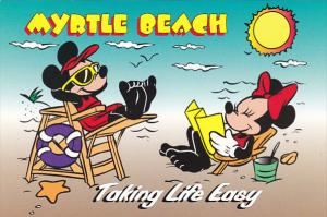 Disney Company Taking Life Easy In Myrtle Beach