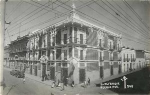 RPPC of El Alfenique Puebla Pue Mexico