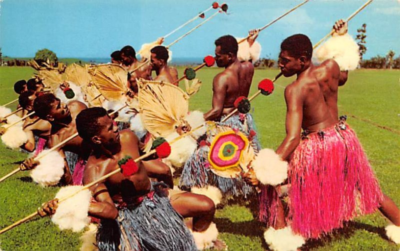 Meke Wesi, Spear Dancer Fiji Unused