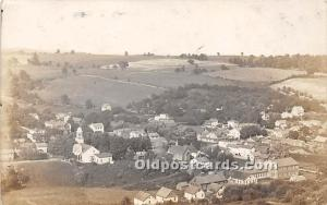 Old Vintage Shaker Post Card Birdseye View, Real Photo Mount Lebanon, New Yor...