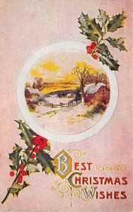 Christmas Day Postcard Postal used unknown