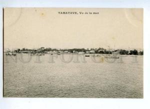 144688 Madagascar Toamasina TAMATAVE view Vintage postcard