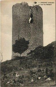 CPA CROZANT La Tour de Renard (1144422)
