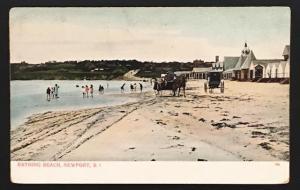 Bathing Beach Newport RI A.C. Bosselman & Co 304