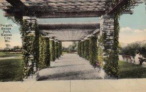 KANSAS CITY, Missouri, 1900-10s; Pergola, Swope Park