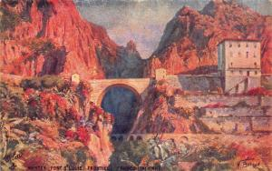Vintage Tucks 1920 Postcard PONT ST LOUIS FRONTIERE FRANCO-ITALIENNE France No.6