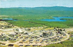 St David de Falardeau Quebec Canada Birds Eye View Vintage Postcard J60180