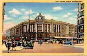Massachusetts Boston South Station Curteich