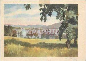 Postcard A Modern Hofer Am Chiemsee Stamp British Censorship area back