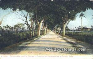 Cuba, Republica De Cuba Guines Automobile Road