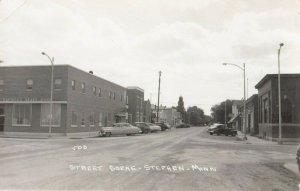 RP: STEPHEN , Minnesota , 1940s ; Main Street