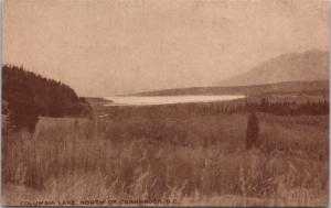 Columbia Lake North of Cranbrook BC Beatty Murphy Co. Vintage Postcard D61
