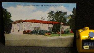 STD Vintage Ramona's Marriage Place Old Town San Diego California