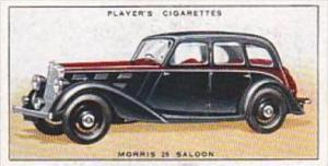 Player Cigarette Card Motor Cars No 30 Morris 25 Saloon