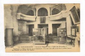 Ancienne Chapelle Dite  Salle Des Girondins , La Conciergerie, Paris, France,...
